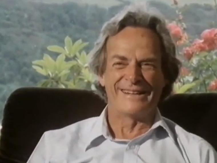 """Ричард Фейнман - """"Удовольствие делать открытия"""""""