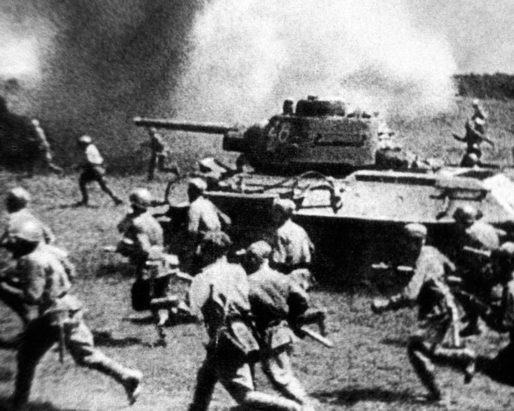 Курская Дуга. Битва под Прохоровкой